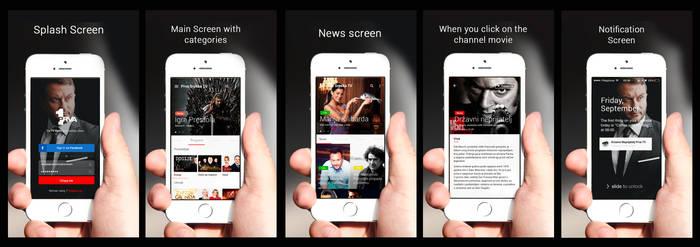 Prva Srpska Tv : TV Vodic App Design Concept