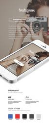 Instagram IOS 8 Concept App Design by vasiligfx