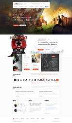 Gaming Landing Page - Free Download