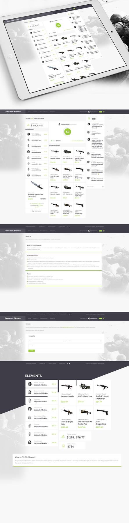 CS Gochance Jackpot Web Desing