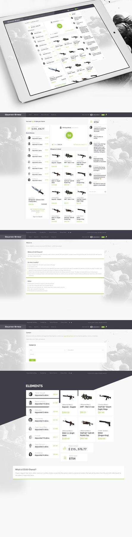CS Gochance Jackpot Web Desing by vasiligfx