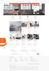 Furniture Ecommerce Web Design For Sale by vasiligfx