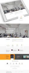 ElanWave.nl Web Design by vasiligfx