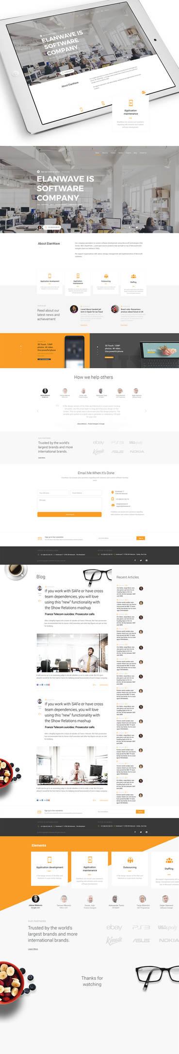 ElanWave.nl Web Design