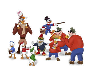 Duck Tales - Heroes of my Childhood by ArtPolly