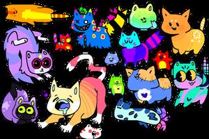 OTA Felines by P0lTERGElST