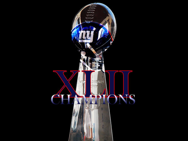 XLII SUPER BOWL CHAMPS by wingchuner