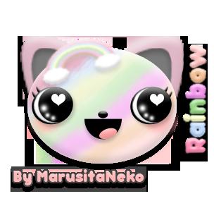 Rainbow n.n by marusitaneko