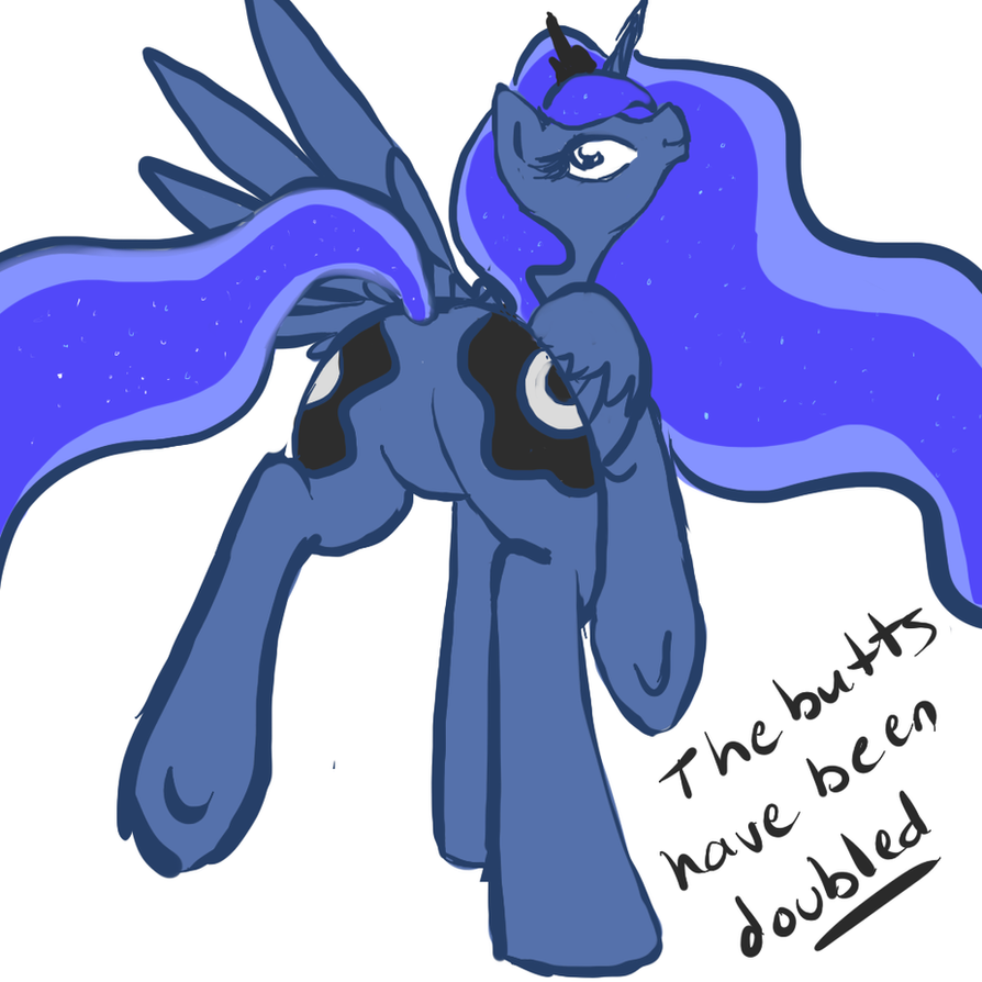 Luna Butt by GreenDelibird