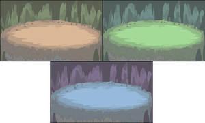 Cavernous Battle Backgrounds