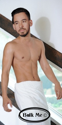Mike Shinoda and a towel by BulkMe