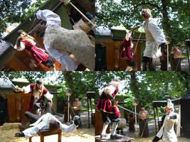 Renaissance Fencing Touchee 02