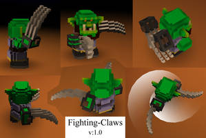 Cube World - Warrior Claws 02