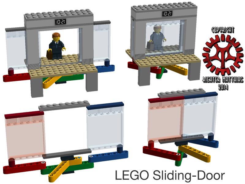 LEGO Sliding Door v1.0 by Steam-HeART ...  sc 1 st  DeviantArt & LEGO Sliding Door v:1.0 by Steam-HeART on DeviantArt