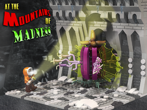 At The Mountains Of Madness - LEGO Diorama