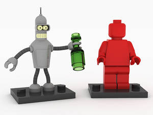 LEGO Bender Minifigure