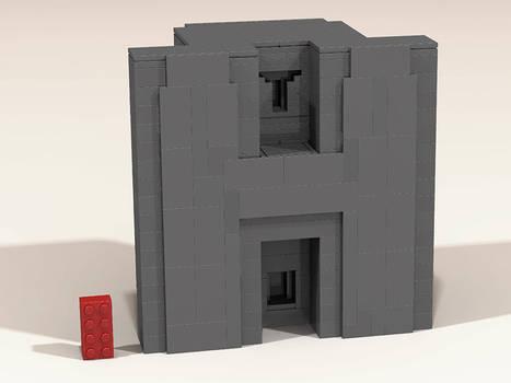 Puma Punku LEGO-H-Block
