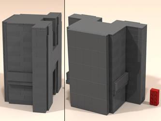 Puma Punku LEGO-H-Block b by Steam-HeART