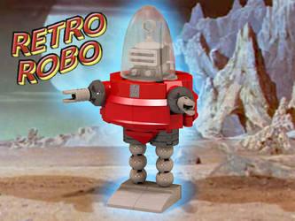 LEGO Retro Robot by Steam-HeART
