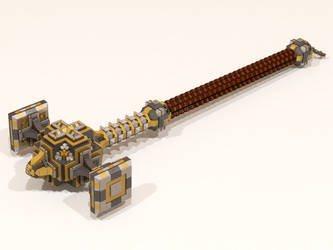 LEGO Dwarven Hammer 001