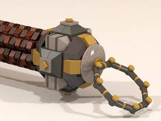LEGO Dwarven Hammer 006 by Steam-HeART