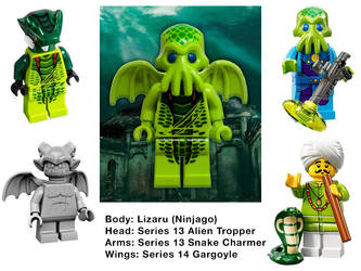 LEGO Cthulhu Parts by Steam-HeART
