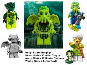 LEGO Cthulhu Parts