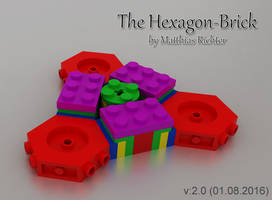 Hexagonal Building Brick 03