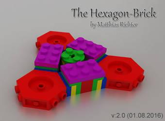 Hexagonal Building Brick 03 by Steam-HeART