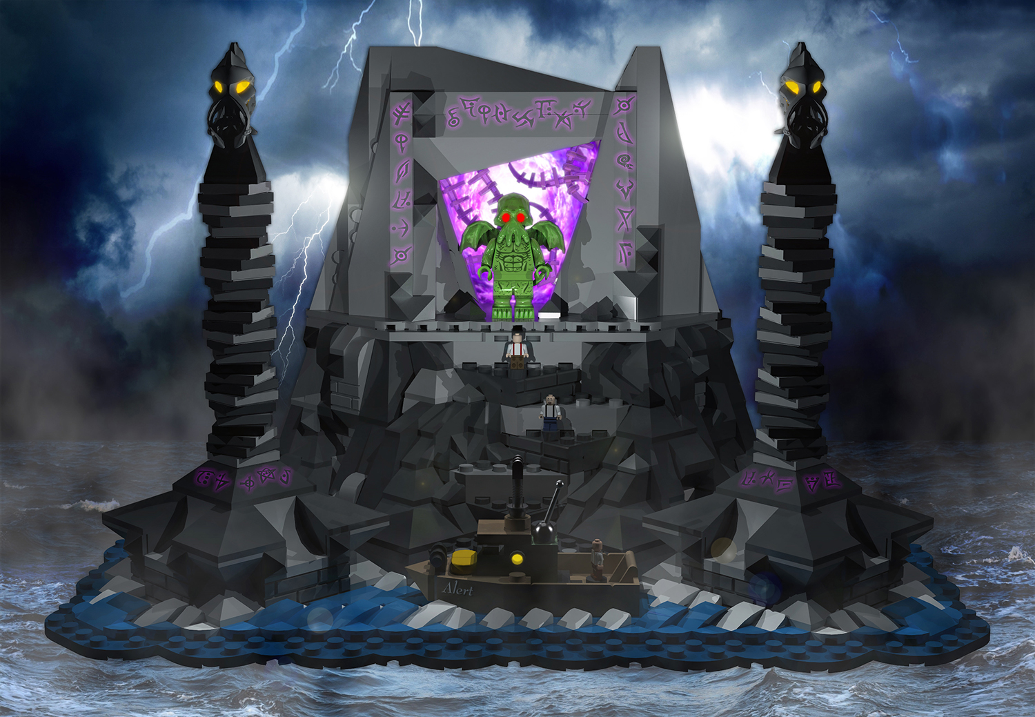 the_call_of_cthulhu___lego_ideas_project
