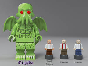The Call of Cthulhu - Minifigures