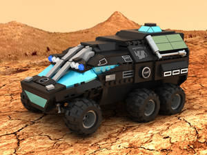 Mars Rover Concept Vehicle 01