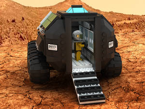 Mars Rover Concept Vehicle 02
