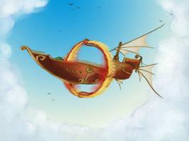 Airship by cenoslave