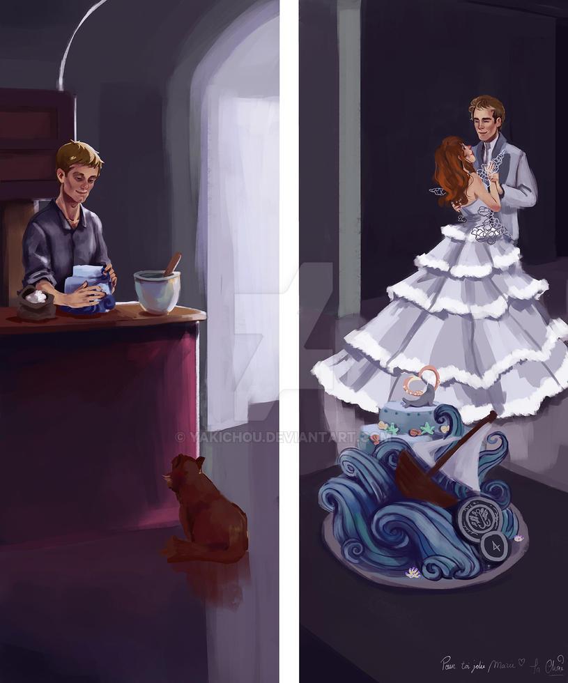 HG : wedding cake by yakichou