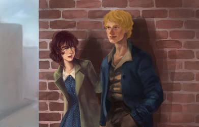 Commission : Sara and Saul by yakichou
