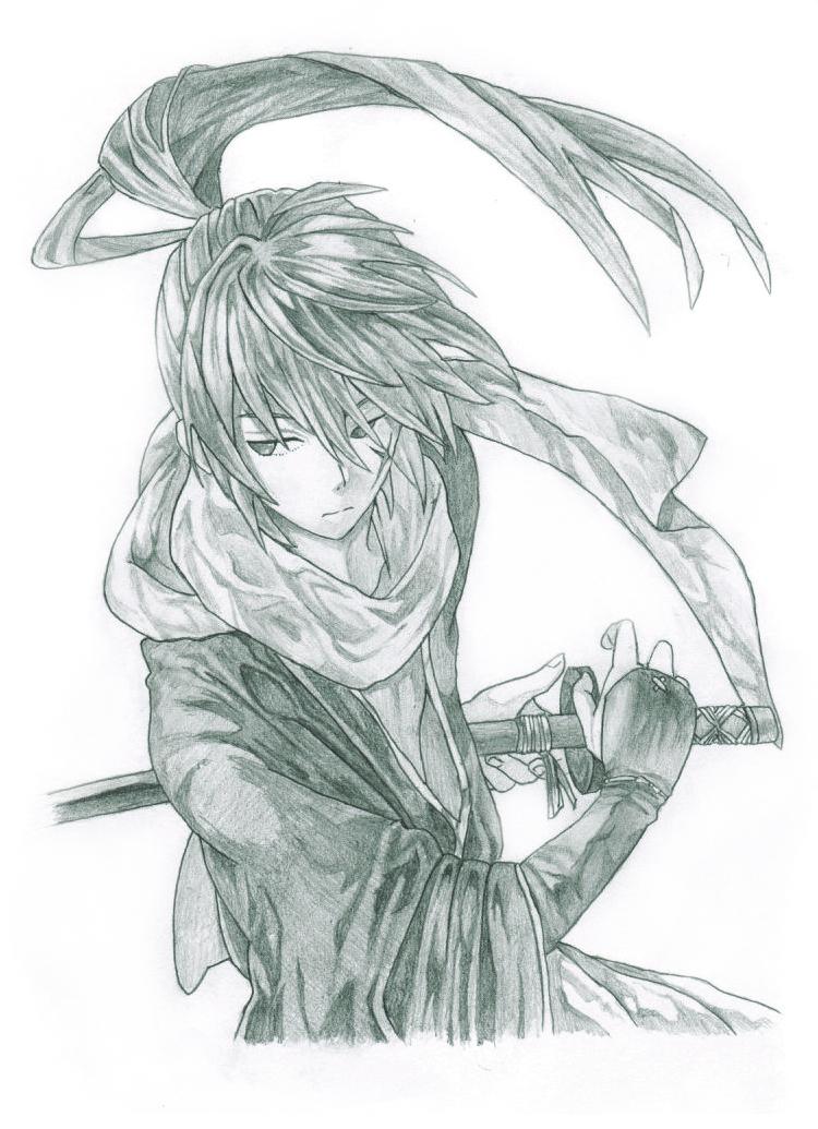 hitokiri_battousai__rurouni_kenshin__by_