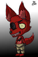 Foxy: Five Nights At Freddy's by OneAngryGinger