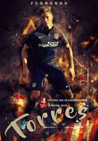 Fernando Torres Atletico de Madrid by InfiernoRojiblanco