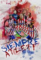 Siempre Atletico de Madrid by InfiernoRojiblanco