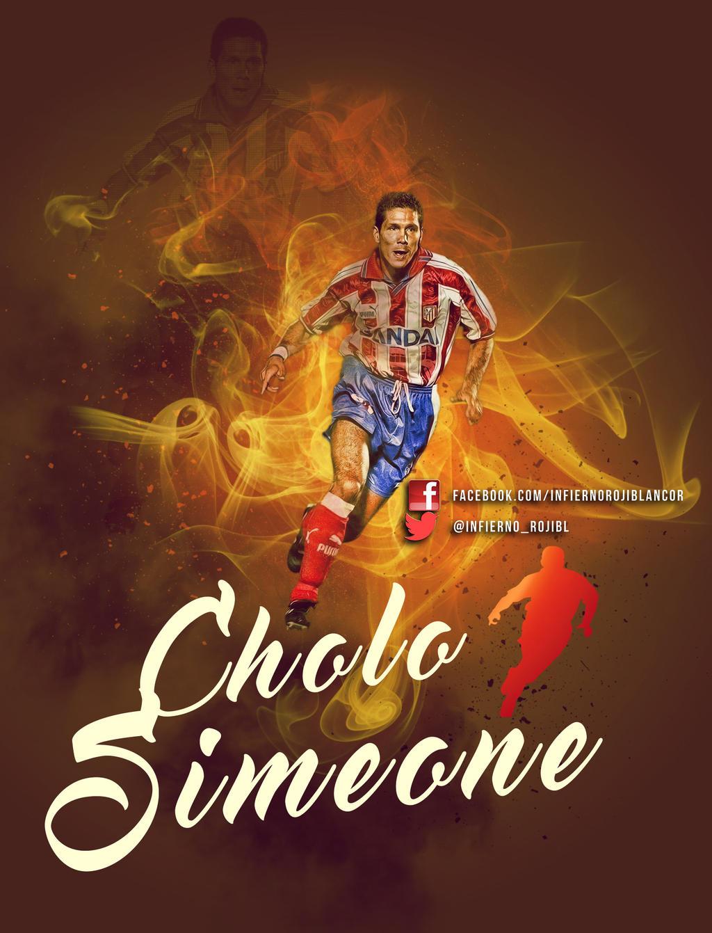 Cholo Simeone by InfiernoRojiblanco