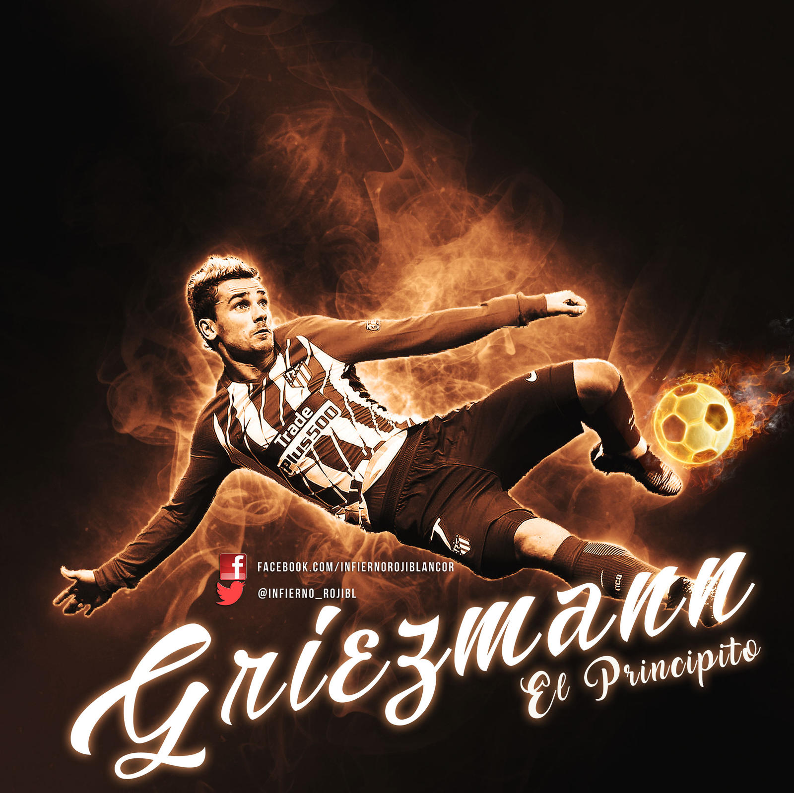 Griezman-chilena by InfiernoRojiblanco