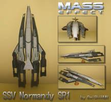 Paper SSV Normandy SR1 by DaiShiHUN
