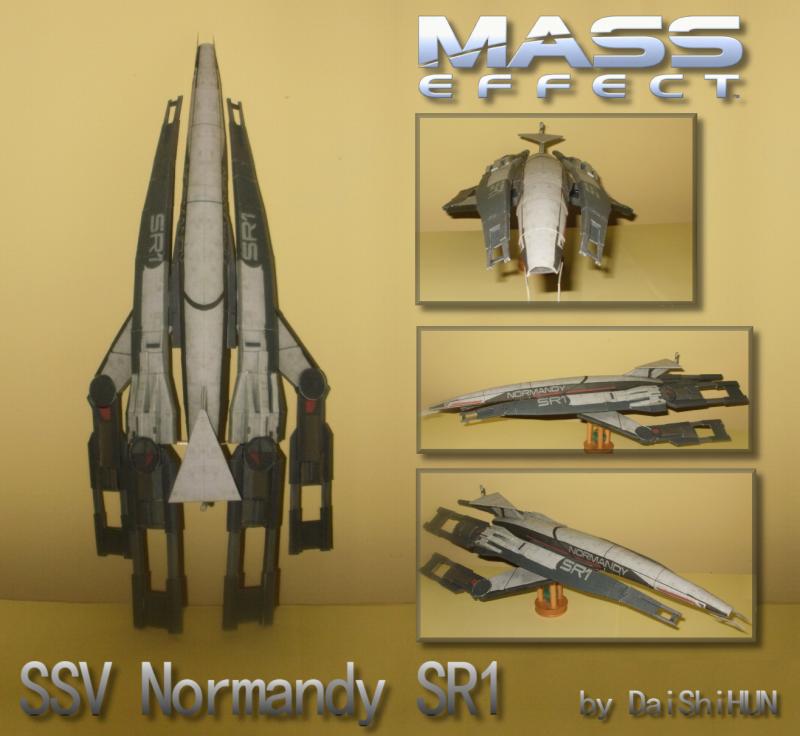 Paper Ssv Normandy Sr1 By Daishihun On Deviantart