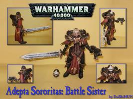 Battle Sister Paper Model by DaiShiHUN