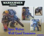 Space Wolf Terminator Papercraft