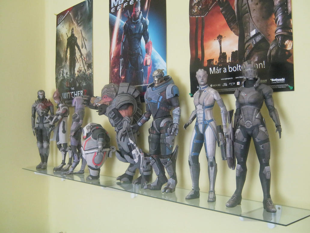 My Mass Effect paper figures 1 by DaiShiHUN