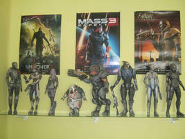 My Mass Effect paper figures 2 by DaiShiHUN