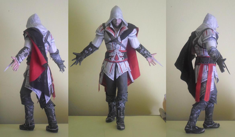 Ezio Auditore da Firenze Papercraft by DaiShiHUN