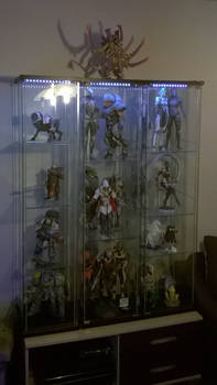 Display case for my paper models